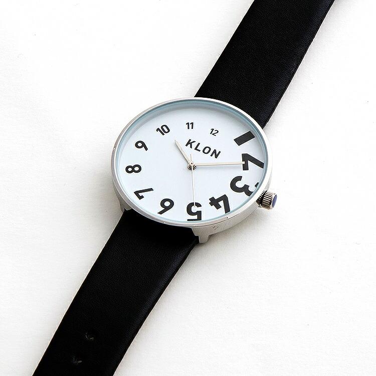KLON EDDY TIME THE WATCH クローン 腕時計 ウォッチ モノトーン モノクロ メンズ レディース