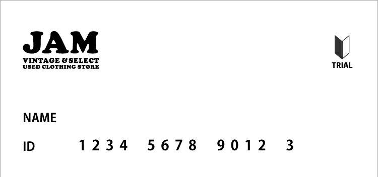 仮会員メンバーズカード