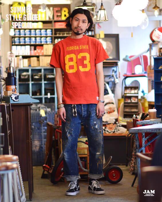 ロゴプリントTシャツ3