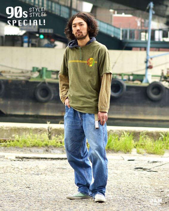 90年代ファッション・古着コーディネート特集 | 古着屋JAM(ジャム)