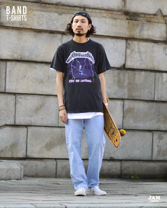 バンドTシャツ1