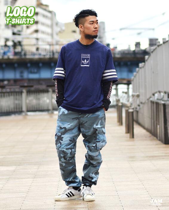 ロゴプリントTシャツ2