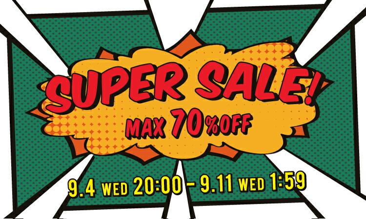 MAX70%OFF!スーパーセール