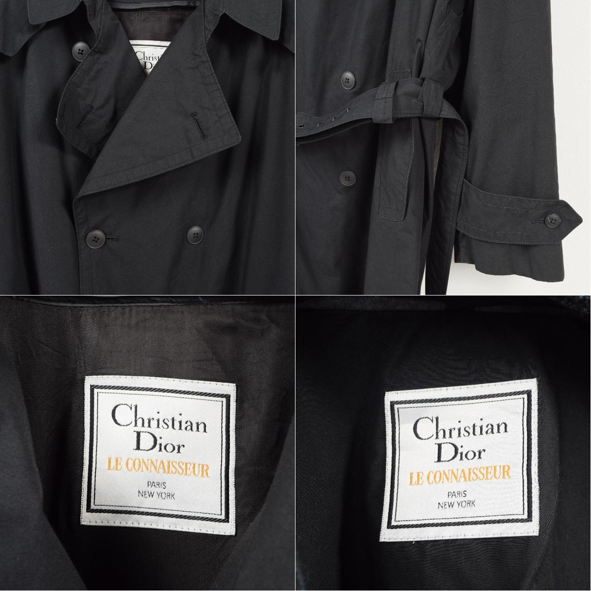 sale retailer 019dc 49614 クリスチャンディオール Christian Dior LE CONNAISSEUR ライナー付き トレンチコート 42R メンズL /wat3400  【181106】