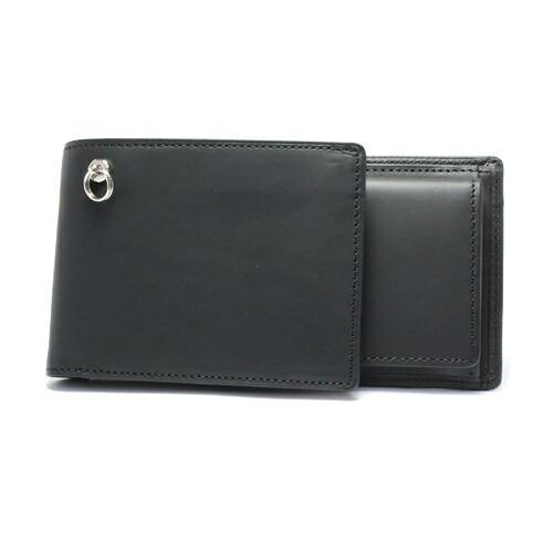 セミロングウォレット -BLACK- / 長財布