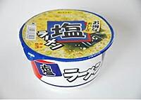 株式会社麺のスナオシ スナオシ 塩ラーメン カップ 77.4g ×12個【イージャパンモール】