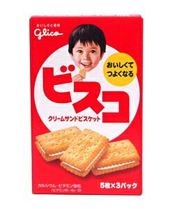 グリコ ビスコ 5枚×3パック【イージャパンモール】