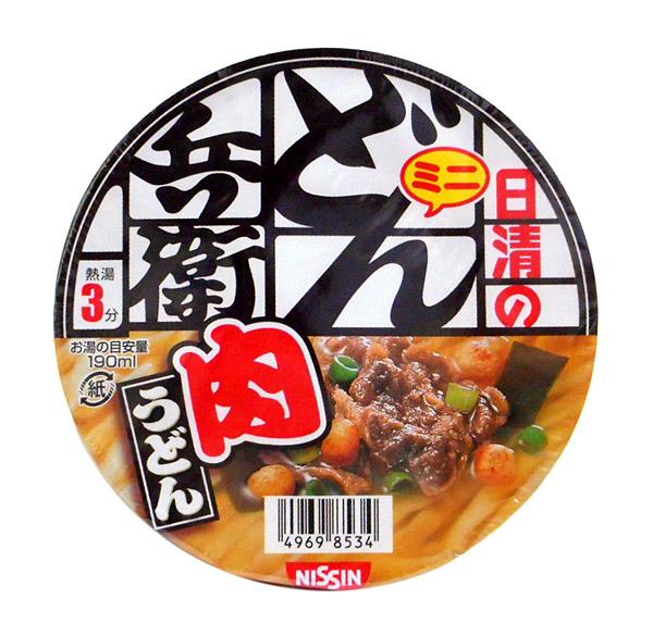 日清食品(株) ミニどん兵衛 肉うどん 40g【イージャパンモール】