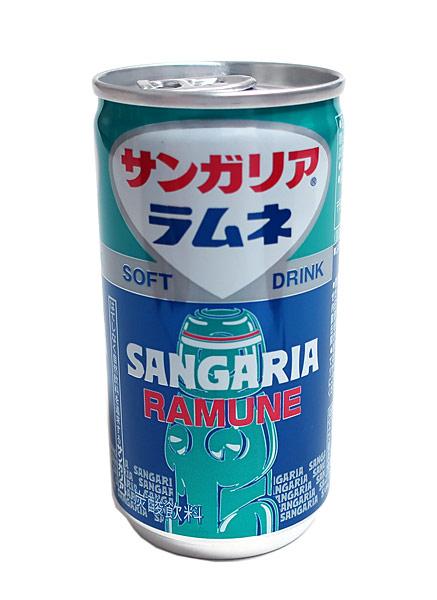 ★まとめ買い★ サンガリア サンガリアラムネ 190g缶 ×30個【イージャパンモール】