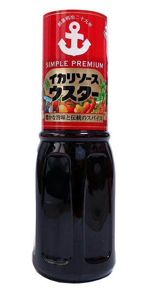 イカリソース ウスターソース ×10個【イージャパンモール】