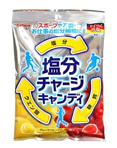カバヤ 塩分チャージキャンディ110g【イージャパンモール】