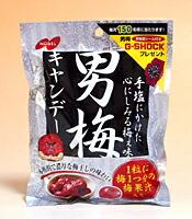 ノーベル 男梅キャンディー80g【イージャパンモール】