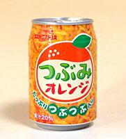 ★まとめ買い★ サンガリア つぶみオレンジ280g缶 ×24個【イージャパンモール】