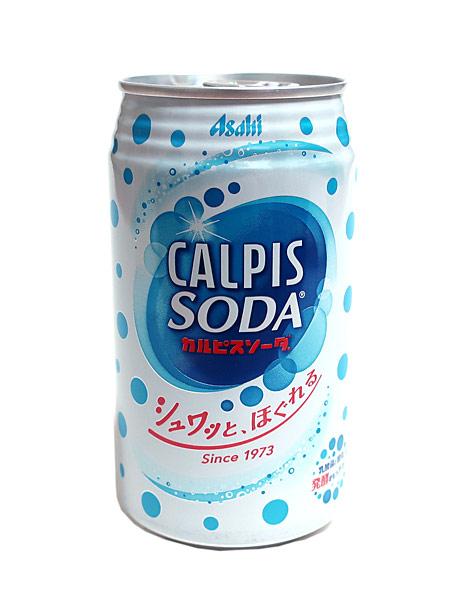 カルピスソーダ 350ml缶【イージャパンモール】