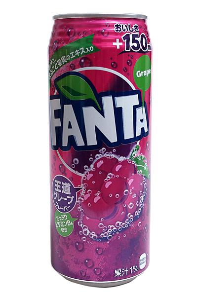 ★まとめ買い★ ファンタ グレープ 500mlロング缶 ×24個【イージャパンモール】