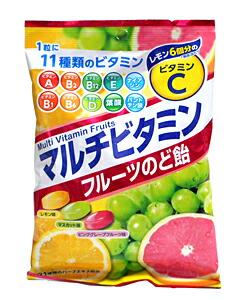 扇雀飴 マルチビタミンフルーツのど飴 80G【イージャパンモール】