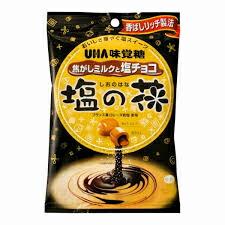 UHA味覚糖 塩の花焦がしミルクと塩チョコ 85g【イージャパンモール】