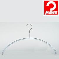 MAWA(マワ)社 3本セット マワハンガー 滑らないハンガー レディースライン シルバー【代引不可】【日用品館】