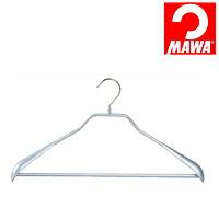 MAWA(マワ)社 マワハンガー 滑らないハンガー ニューボディーフォーム スーツ用 シルバー【代引不可】【日用品館】