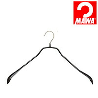 MAWA(マワ)社 マワハンガー 滑らないハンガー ボディーフォーム ワイド ブラック【代引不可】【日用品館】