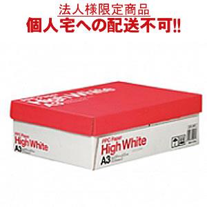 【送料無料】【A3サイズ】PPC PAPER High White A3 500枚×3冊/箱【法人(会社・企業)様限定】【イージャパンモール】