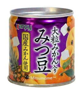 カンピー国産 大粒みかん入 みつ豆 M2号缶【イージャパンモール】