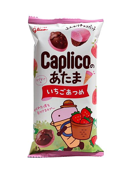 グリコ カプリコのあたま いちご味 30g【イージャパンモール】
