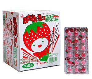 ★まとめ買い★ チーリン プチプチ占いイチゴミルク味 ×30個【イージャパンモール】