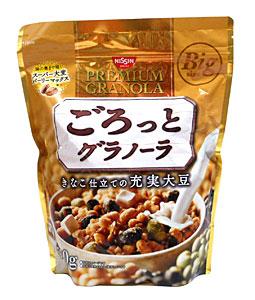 ★まとめ買い★ 日清シスコ ごろっとグラノーラ充実大豆500g ×6個【イージャパンモール】