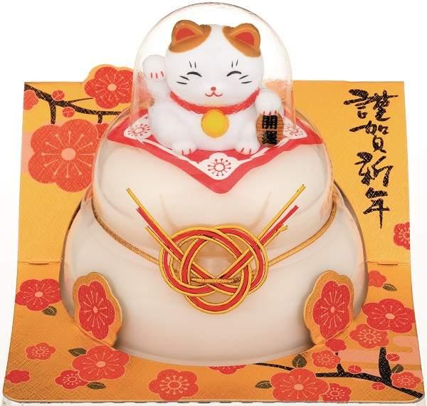 【鏡餅】タイマツ お鏡餅 福招き招き猫160g<G-163>【イージャパンモール】