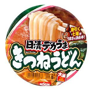 ★まとめ買い★ 日清 デカうま きつねうどん 106g ×12個【イージャパンモール】