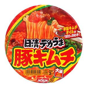 日清 デカうま豚キムチ 101g【イージャパンモール】