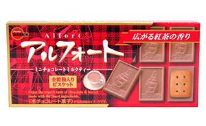ブルボン アルフォートミニチョコレートミルクティー12個入【イージャパンモール】