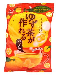 パイン ゆず茶が作れるのど飴 100g【イージャパンモール】