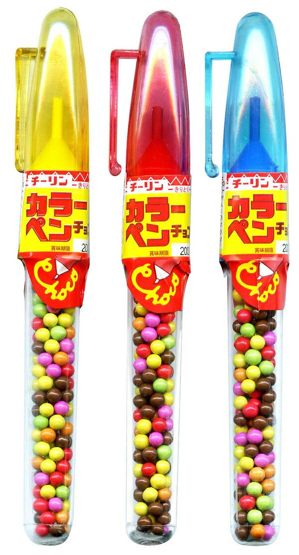 ★まとめ買い★ チーリン製菓 カラーペンチョコ ×30個【イージャパンモール】
