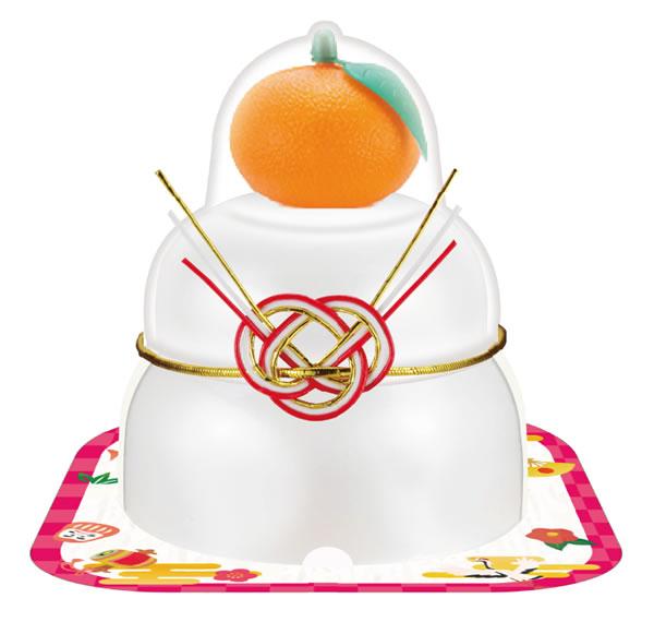 【鏡餅】★まとめ買い★ サトウ 福餅入り鏡餅 小飾り橙 66g ×30個【イージャパンモール】