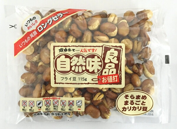 ★まとめ買い★ 田口製菓 自然味良品 フライ豆 115g ×16個【イージャパンモール】