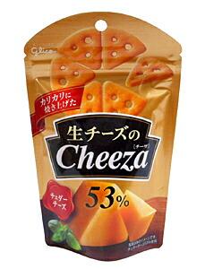 グリコ 生チーズのチーザ チェダーチーズ 40g【イージャパンモール】