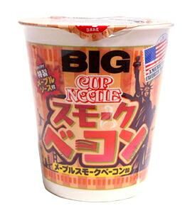 ★まとめ買い★ 日清 カーップヌードルメープルスモークベーコン味ビック ×12個【イージャパンモール】