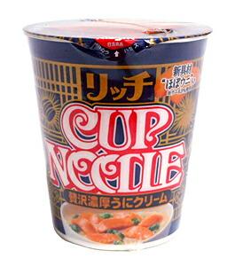 日清 カップヌードルリッチ贅沢濃厚ウニクリーム【イージャパンモール】