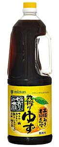ミツカン かおりの蔵(丸搾りゆず) 1.8L【イージャパンモール】