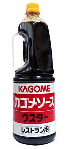 カゴメ ウスターソース レストラン用 1.8L【イージャパンモール】