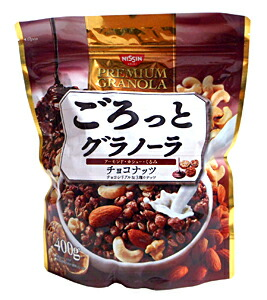 ★まとめ買い★ 日清シスコ ごろっとグラノーラチョコナッツ 400g ×6個【イージャパンモール】