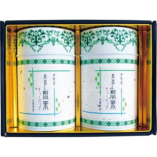 【送料無料】川原製茶 伊勢茶水出し煎茶ティーバッグ詰合せ GTB-30【代引不可】【ギフト館】