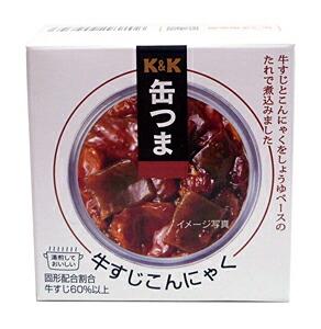 K&K 缶つま牛すじこんにゃく 140g【イージャパンモール】