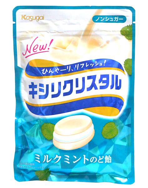 春日井 キシリクリスタルミルクミントのど飴71g【イージャパンモール】