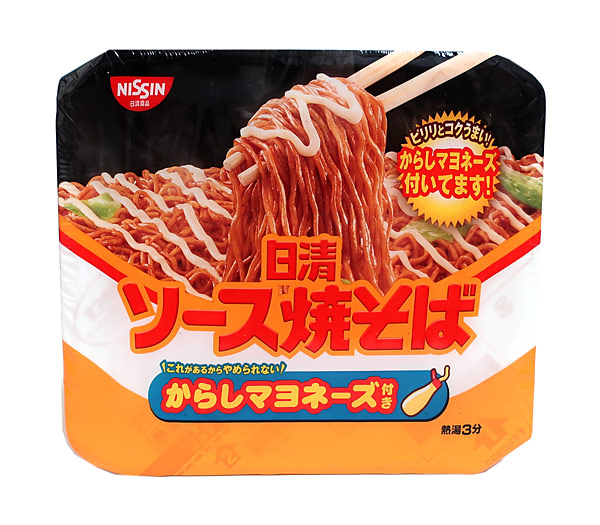 日清 ソース焼そばカップからしマヨネーズ付【イージャパンモール】