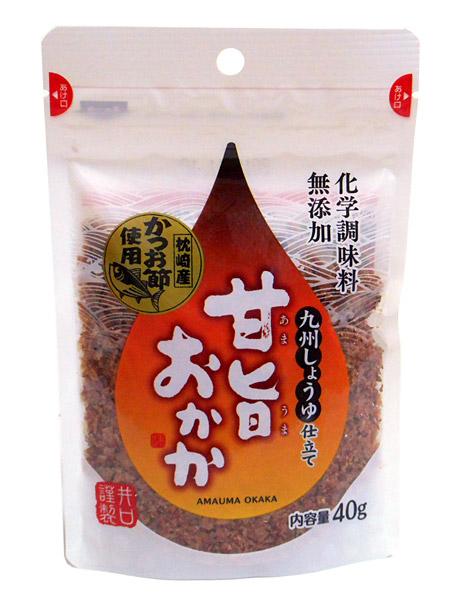 井口食品 甘旨おかか40g【イージャパンモール】