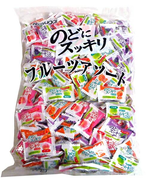 春日井 のどにスッキリフルーツアソート 1Kg【イージャパンモール】