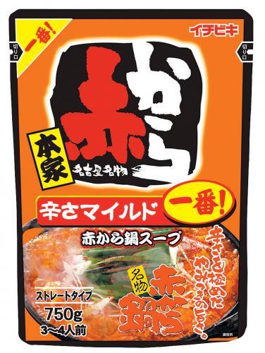 イチビキ 赤から鍋スープ 1番 750g ×10個【イージャパンモール】